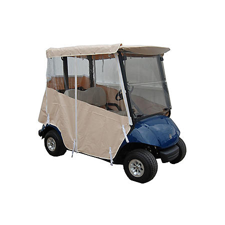 Yamaha Drive 1 Golf Car Over the Top Weather Enclosure