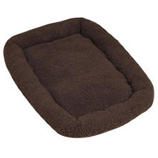 ASL Solutions Fleece Dog Bed for DP Hunter House or Dog Palace, Brown (Choose Your Size)