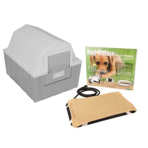 """ASL Solutions Insulated DP Hunter Dog House With Floor Heater, Choose Your Color (26""""W x 29""""L x 23.5""""H)"""