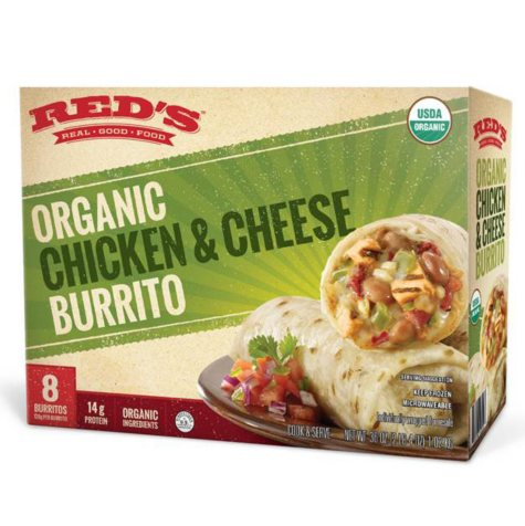 Red's All Natural Organic Chicken and Cheese Burrito (8 pk.)