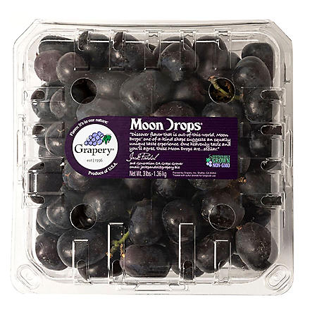 Moon Drop Seedless Grapes (3 lbs.)