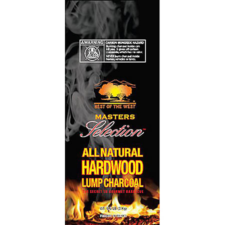 Best of the West Hardwood Lump Charcoal - 20 lbs.