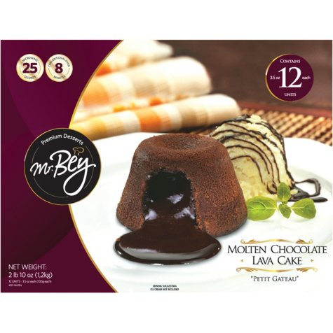 Mr Bey's Chocolate Lava Cakes (12 ct.)