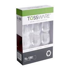 TOSSWARE Vino Shatterproof Wine & Cocktail Cups, 14 oz. (12 pk.)