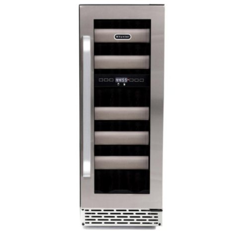 Whynter Elite 17-Bottle Dual-Zone Wine Cellar, Stainless Steel