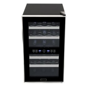 Whynter 18 Bottle Dual Zone Thermoelectric Wine Cellar