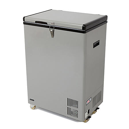 Whynter 95 Quart Portable Wheeled Freezer with Door Alert
