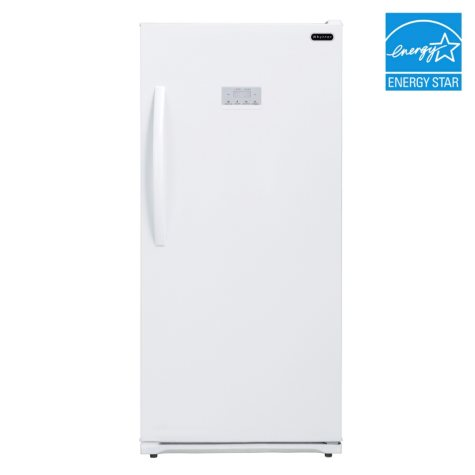 Whynter 13.8 cu.ft. Energy Star Digital Upright Deep Freezer, White