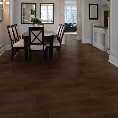 Select Surfaces Click Laminate Flooring Brazilian Coffee
