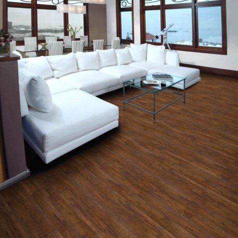 Select Surfaces Click Laminate Flooring - Cocoa Walnut - 17.23 sq. ft.