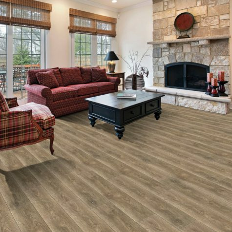 Select Surfaces Click Laminate Flooring, Pewter