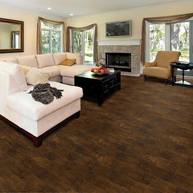 Select Surfaces Vintage Walnut Laminate Flooring Sams Club
