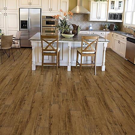 Select Surfaces Luxury Vinyl Plank Flooring Aspen Oak