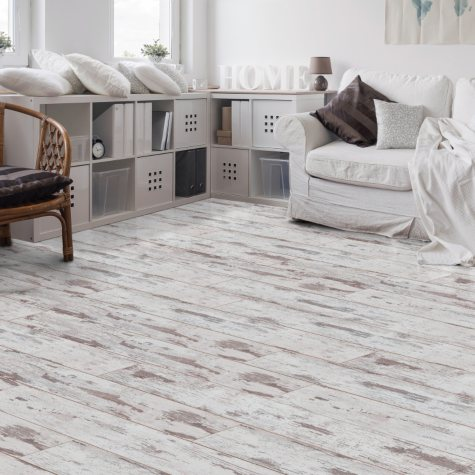 Select Surfaces Antique White Laminate Flooring