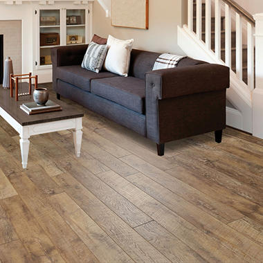 Select Surfaces Driftwood Laminate Flooring Sam S Club