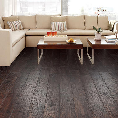 Select Surfaces Espresso Laminate Flooring Sams Club