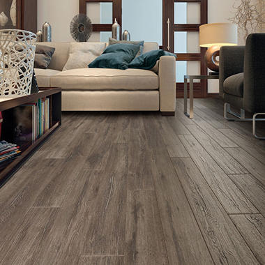 Select Surfaces Silver Oak Laminate Flooring Sams Club