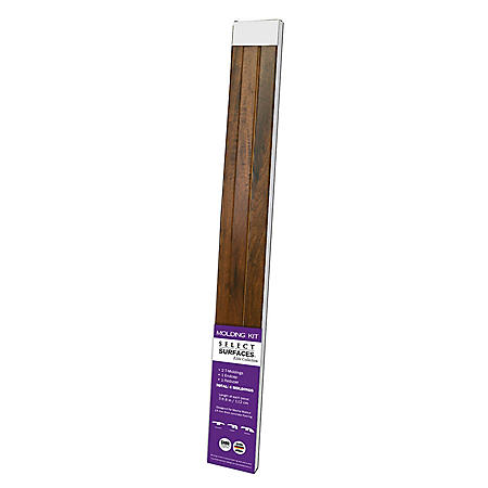 Select Surfaces Mocha Walnut Molding Kit