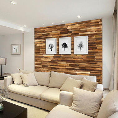 Select Surfaces Acacia Wood Wall Panel