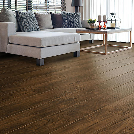 Select Surfaces Mocha Walnut Laminate Flooring Sam S Club