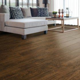 Select Surfaces Mocha Walnut Laminate Flooring Sam S Club