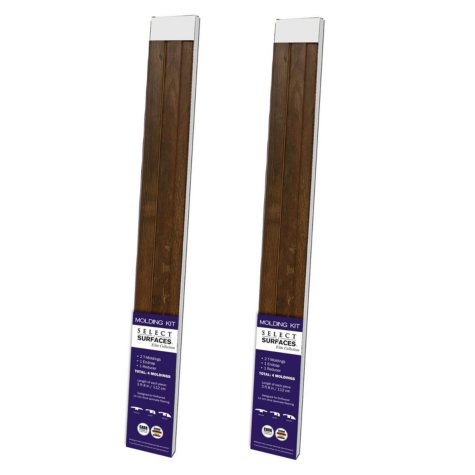 Select Surfaces Driftwood Molding Kit (2 pk.)
