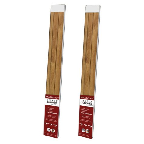 Select Surfaces Honey Maple Molding Kit (2 pk.)