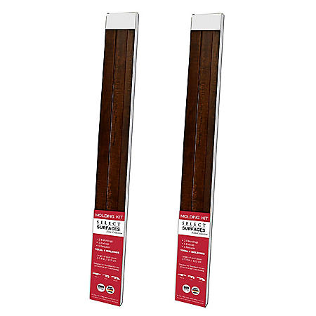 Select Surfaces Woodland Hickory Molding Kit (2 pk.)