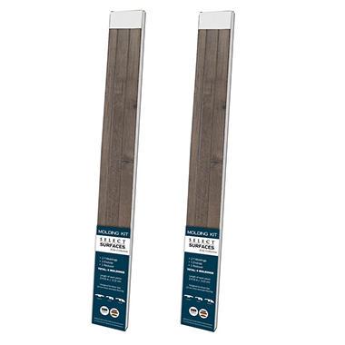 Select Surfaces Silver Oak Molding Kit 2 Pk Sam S Club