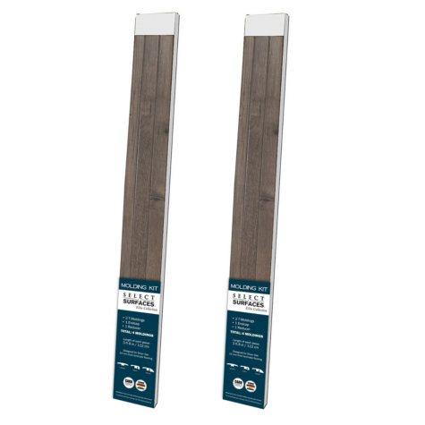 Select Surfaces Silver Oak Molding Kit (2 pk.)