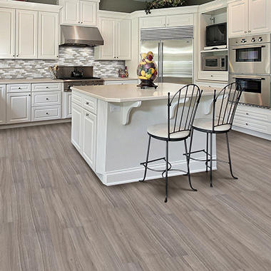 Select Surfaces Ash Engineered Vinyl Plank Flooring 4 Boxes