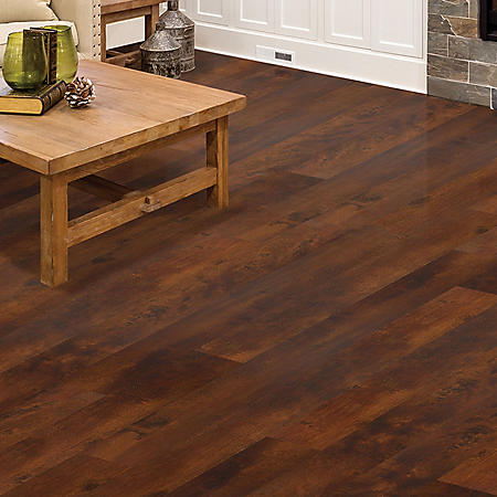 Select Surfaces Whiskey Barrel Oak Engineered Vinyl Plank - 4 Boxes