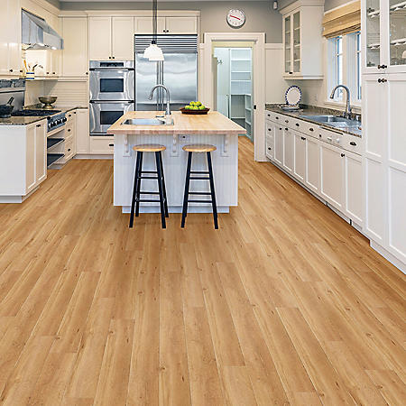 Select Surfaces Country Oak Engineered Vinyl Plank Flooring (4 Boxes)