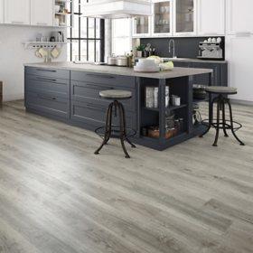 Select Surfaces Harbor Gray Rigid Core Vinyl Plank