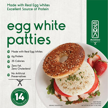 SOMA Egg White Patties (14 ct.)