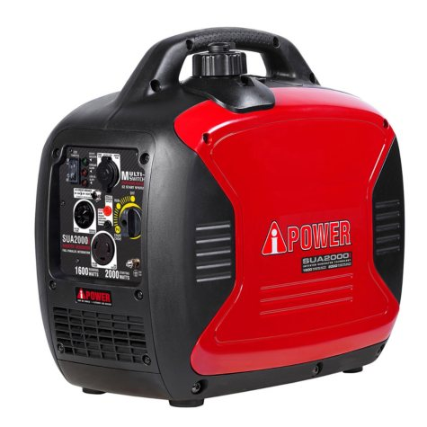 A-iPower Ultra-Quiet 1,600 / 2,000 Watt Inverter Generator