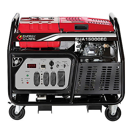 A-iPower 12,000 / 15,000 Watt Heavy Duty Gasoline Generator with Electric Start