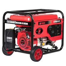 A-iPower 4,000 / 5,000 Watt Gasoline Powered Generator with Manual Start