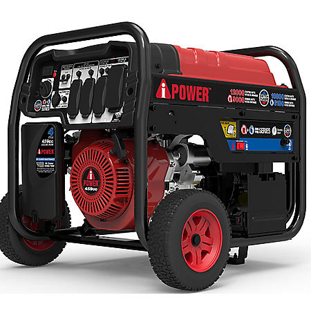 A-iPower SUA12000ED Dual-Fuel 12,000 Watt Gasoline / 10,800W LPG Portable Generator with Electric Start
