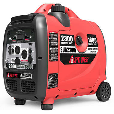 A Ipower Sua2300i Ultra Quiet Inverter Generator With