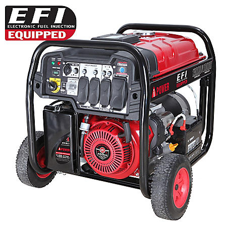 A-iPower SUA13000EFI 10000W / 13000W Gasoline-Powered Portable Generator with Electric Start