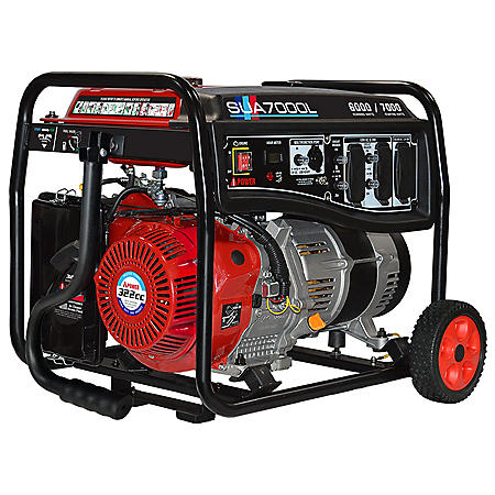 A-iPower 6000/7000 Watt Gasoline Portable Generator