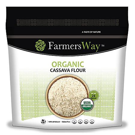 Farmers Way Organic Cassava Flour (24 oz.)