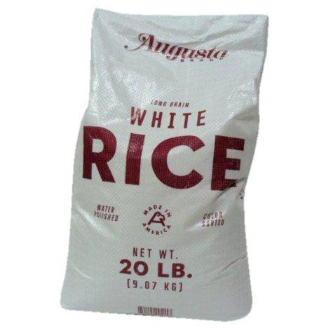 Augusta Long Grain White Rice - 20 lbs.