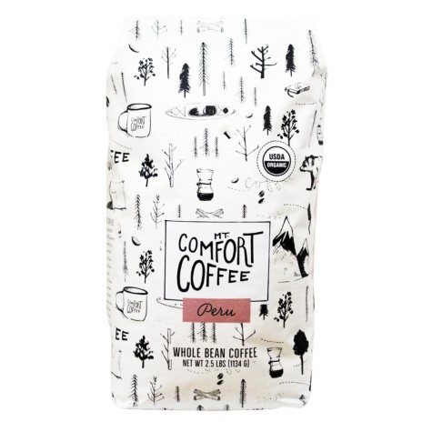 Mount Comfort Peru Whole Bean Coffee (2.5 lb.)