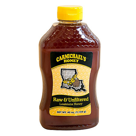 Carmichael's Raw & Unfiltered Honey (40 oz.)