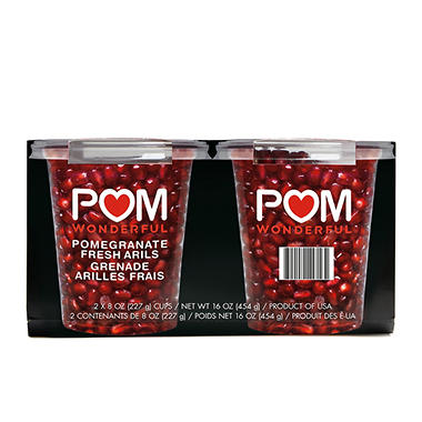 Pomegranate Arils - 16 oz.