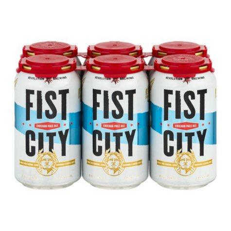 Revolution Fist City Pale Ale (12 fl. oz. can, 6 pk.)