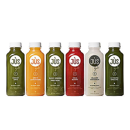 JUS by Julie 3-Day Blended Juice Cleanse