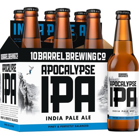 10 Barrel Apocalypse IPA (12 fl. oz. bottle, 6 pk.)